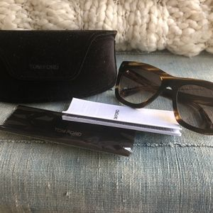 Tom Ford Accessories - TOM FORD Celina in Dark Havana - BRAND NEW!!